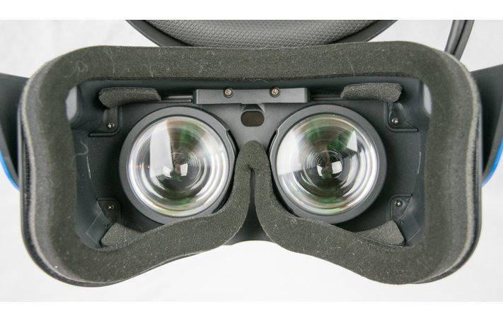 Lenses, a patch and a proximity sensor