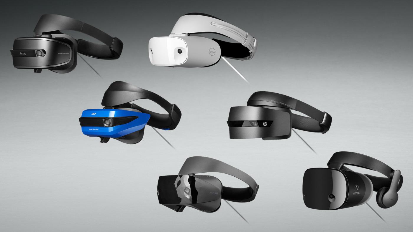 WMR headsets
