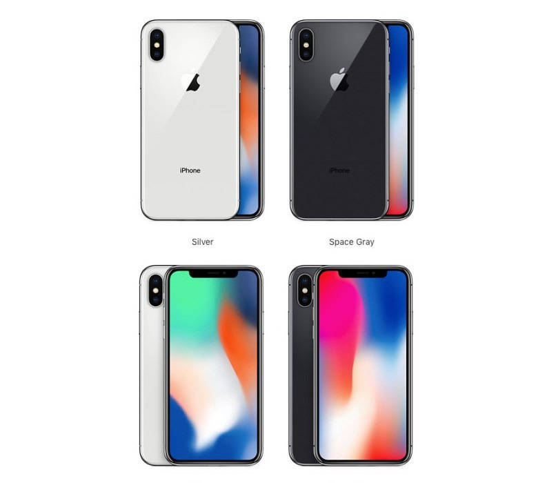 Расцветки iPhone X