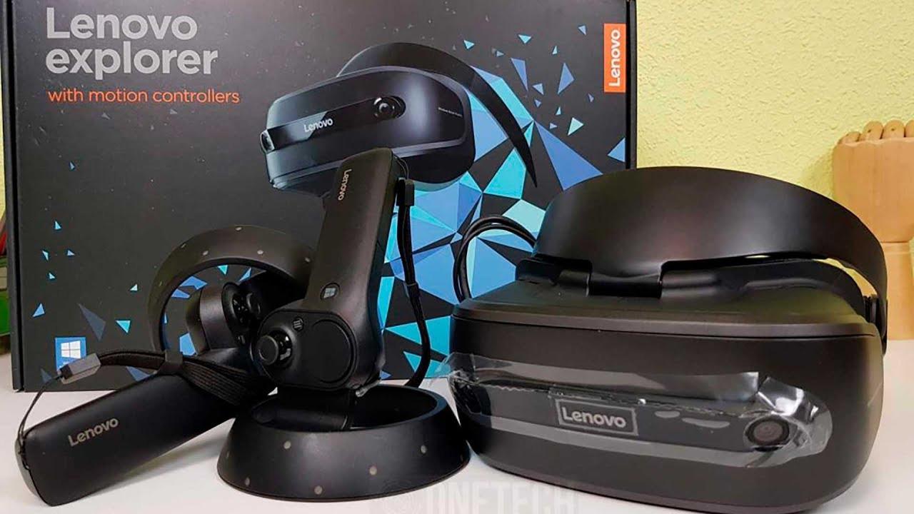 Очки и контроллеры Lenovo Explorer