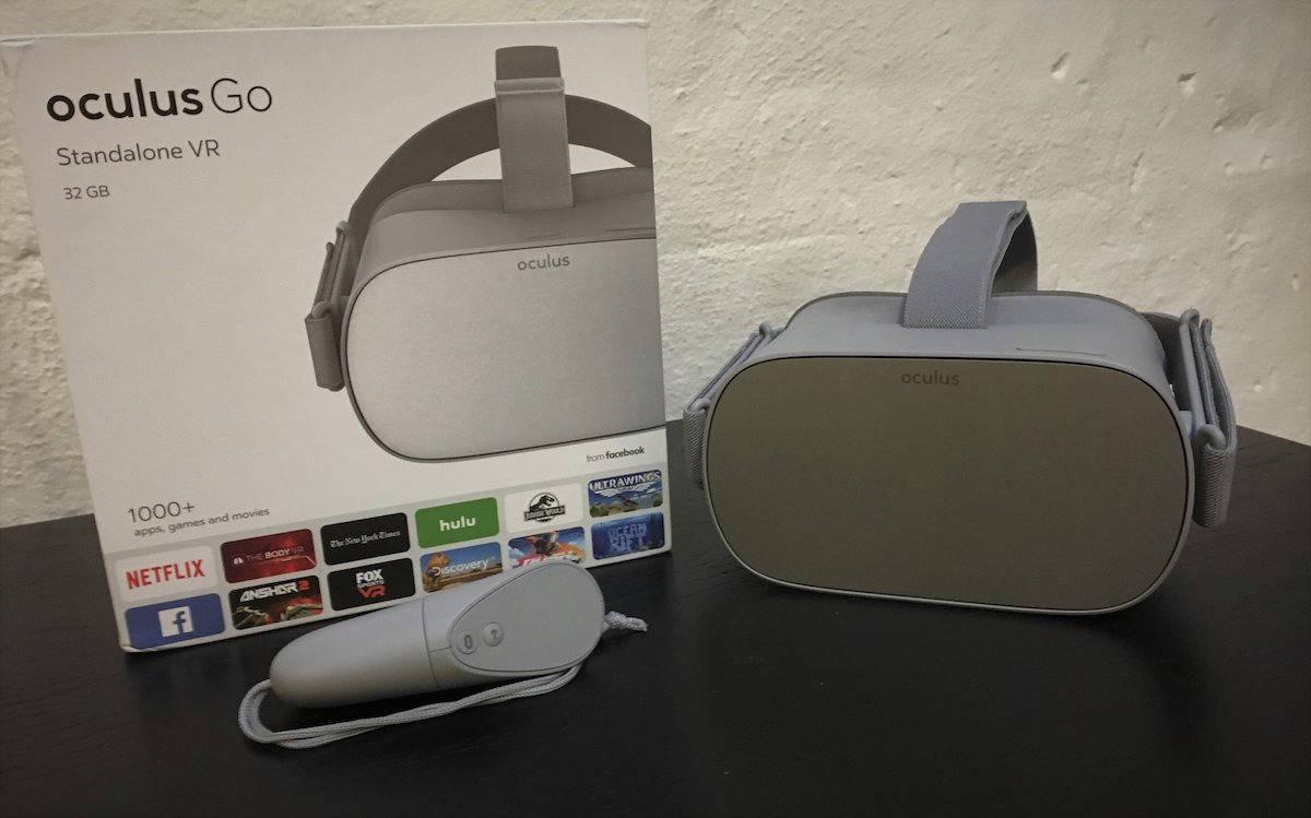 Oculus Go packaging