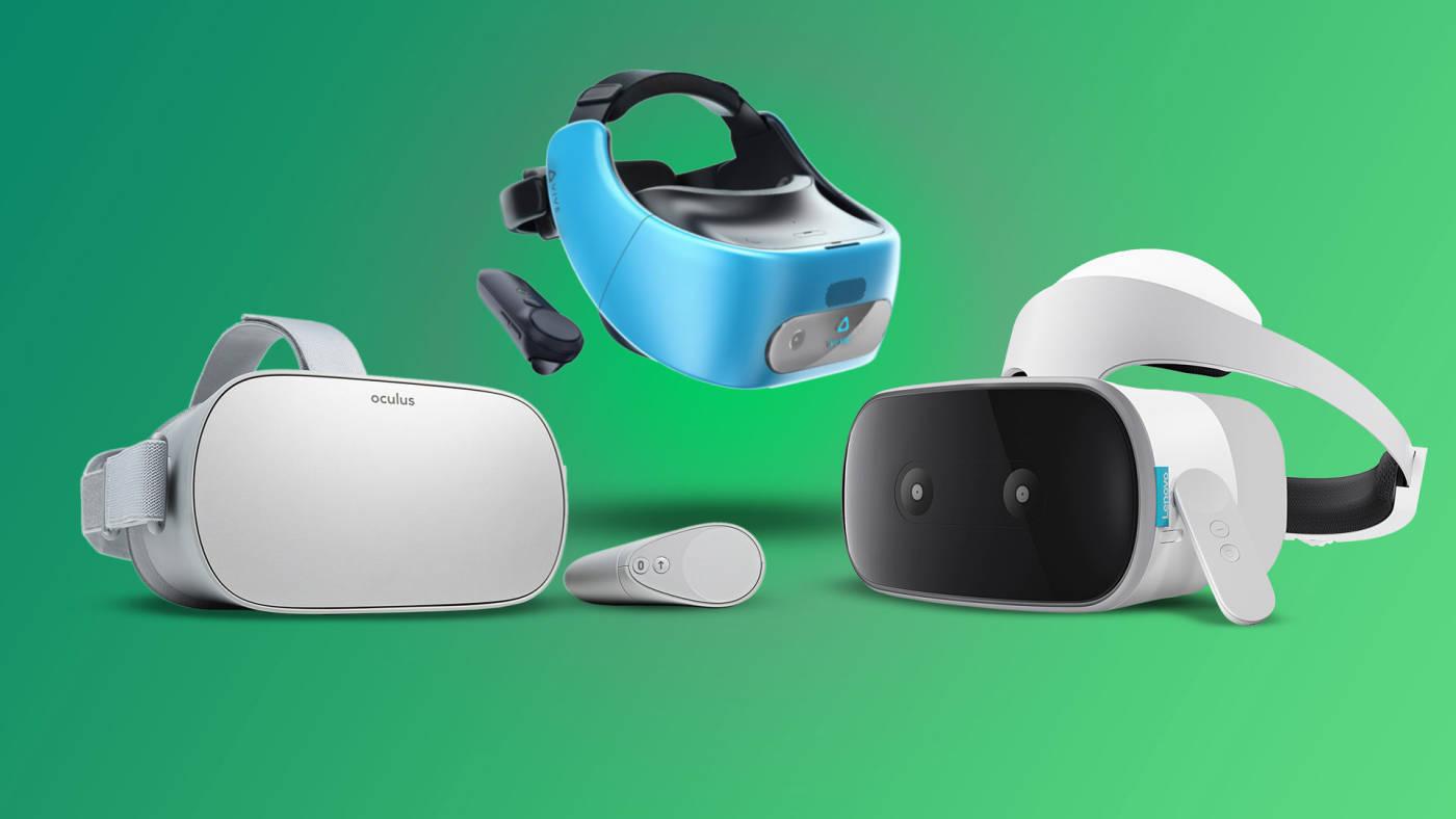 Oculus Go vs HTC Vive Focus vs Lenovo Mirage Solo