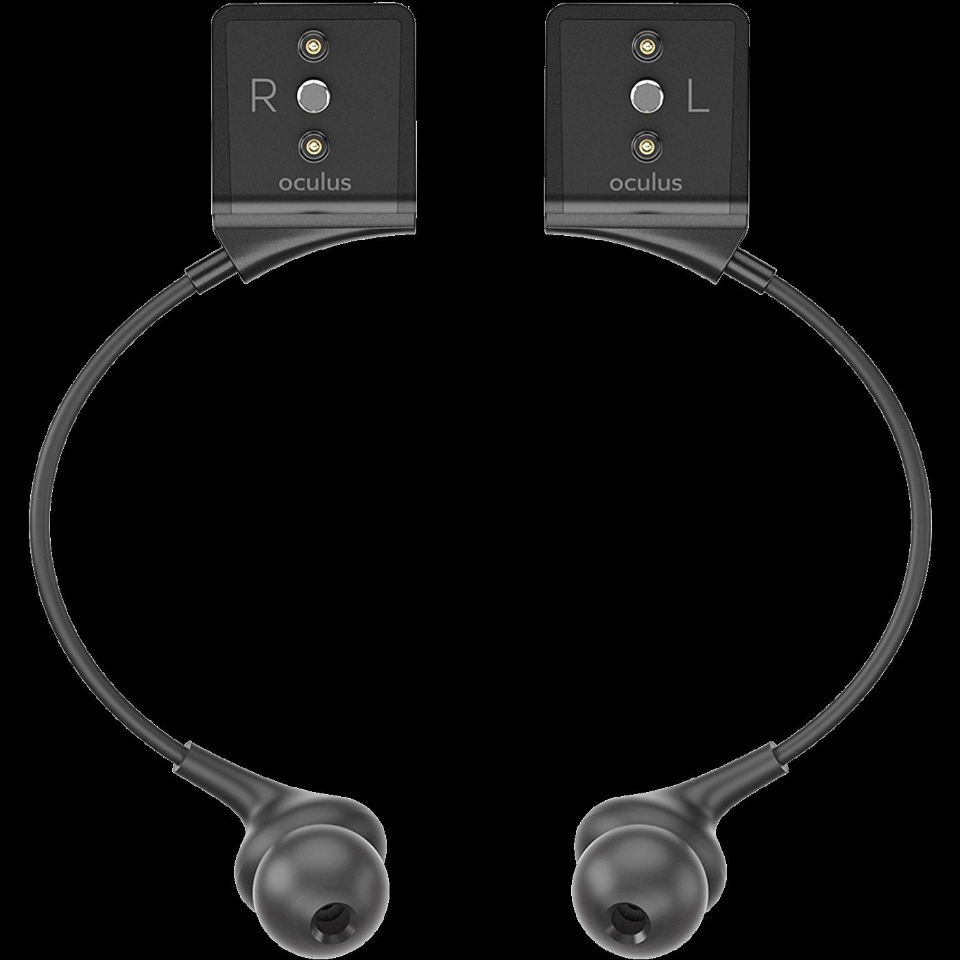 Oculus Rift in-ear headphones