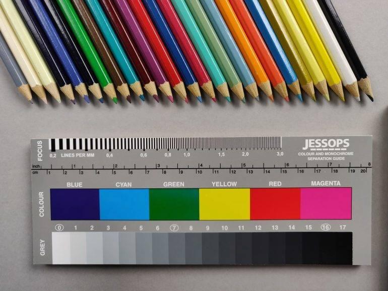 Colours rendition