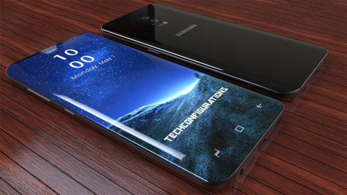Изогнутые края дисплея смартфона