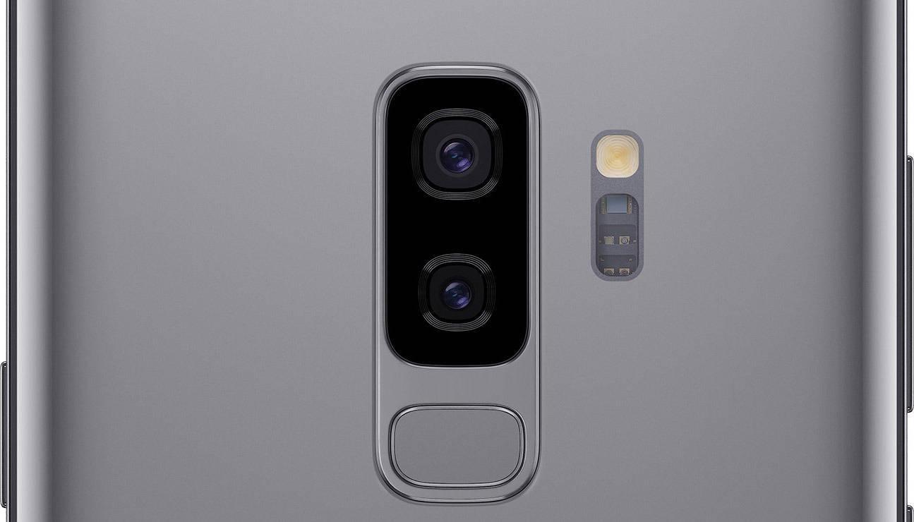 Двойная камера Samsung Galaxy S9+
