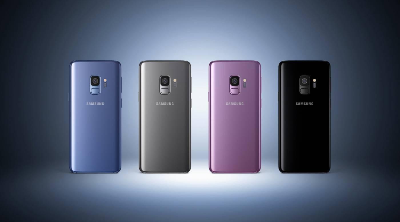 Цвета линейки Samsung Galaxy S9