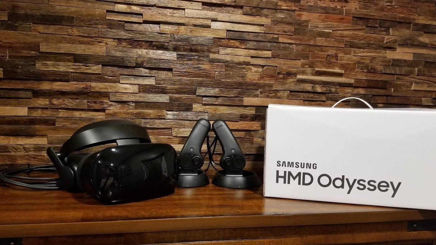 Упаковка Samsung Odyssey