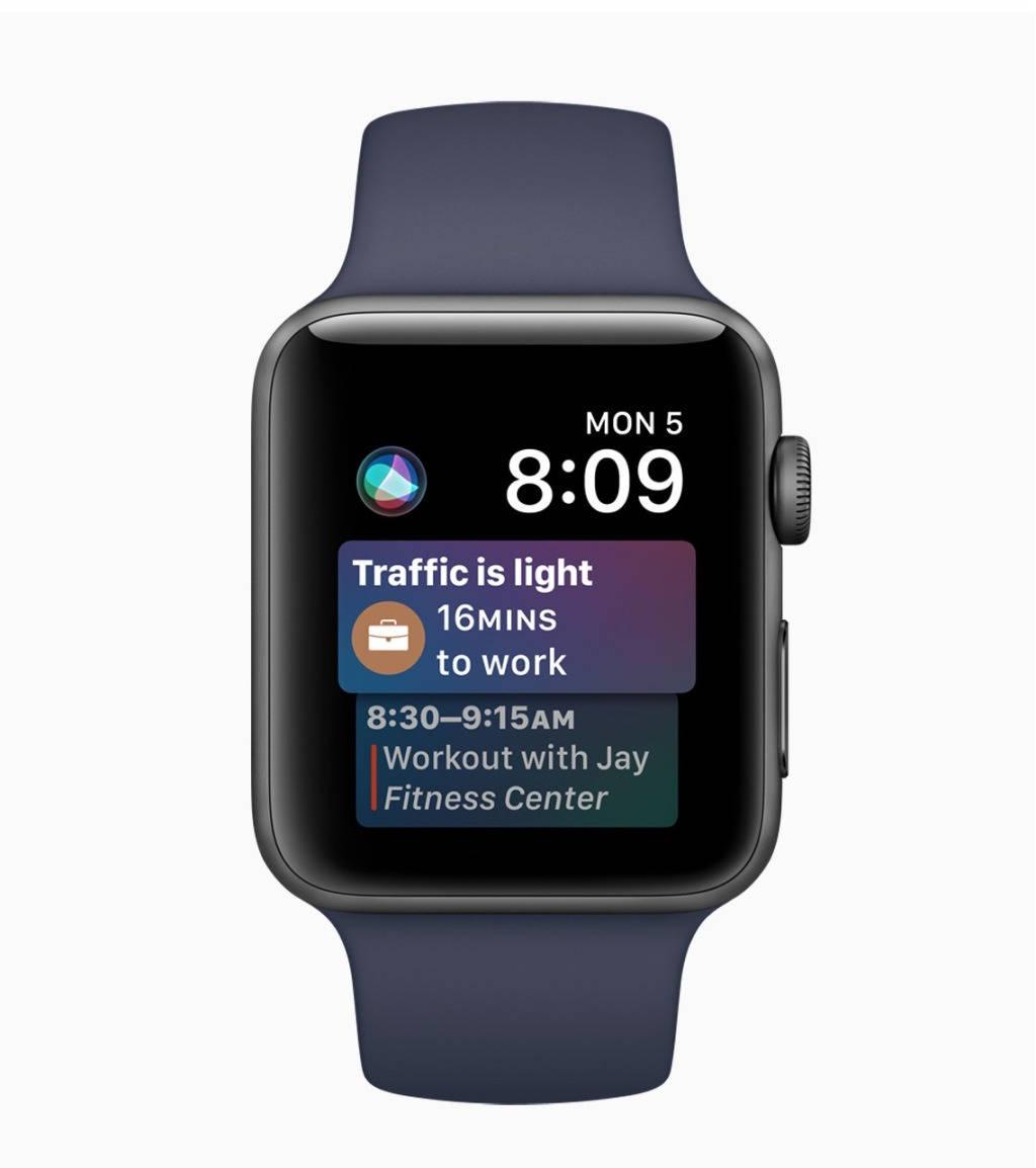 watchOS — Siri