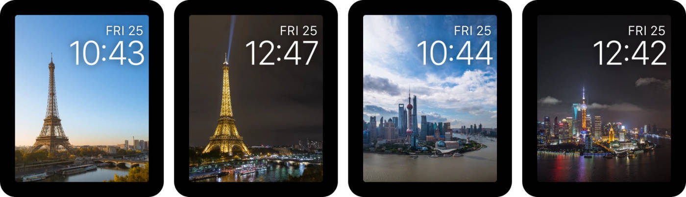 watchOS — Time-lapse