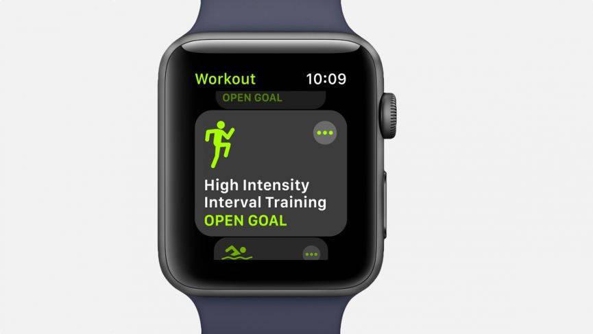 watchOS — Workout